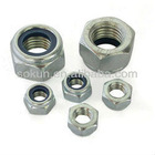 Grade 5 HDG Nylon lock nuts