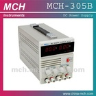 MCH-305B power supply,0-30V/0~5A variable,single output, w/ 5V 2A fixed output power supply