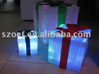 Plastic LED cube light is the Ideal for Home Decoration and Customized Shapes are Accepted