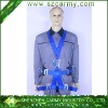 Construction Worker Use Sitting Aloftwork Fall Protection Saftey Belt
