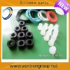 Custom small silicone rubber parts