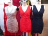 fashion knitting material style party stock dress