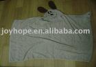 new poncho 100% cotton animal hooded poncho