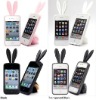 Cute rabbit ear silicone mobile phone case