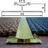 Dual Grip - aluminium carpet trim
