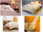 printed color home and hotel bedding set
