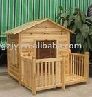 fire-proof wood panel pets house