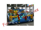 2013 Interesting sport game, giant fun city, inflatable amusement park for kids