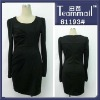long sleeve tight dress/plus size formal dresses long sleeve/elegant long sleeve evening dresses