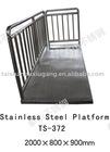 304 or 316L Stainless Steel Platform