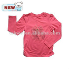 2012 Newest Style 100%cotton Girl's T shirt (Children wear, kids clothing ,girls top)