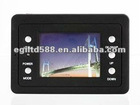 Digital car video with 2.4 inch LCD and support up to 16GB memory