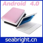 mini laptop 10.1 inch android 4.0 Boxchip A10 1gb/4gb camera