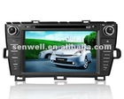 prius car player with gps/DVD/USB/IOP/BT