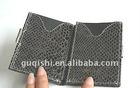fashion leather name card holder