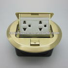 2013 good quality electric Amercian spring up floor socket