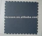 5mm interlocking PVC floor tiles textured surface