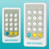 MANUFACTURER 15-button 12-way RF remote controller