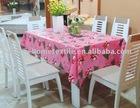 printed PVC table cloth