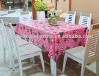 printed PVC table cloth