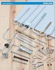 Zinc plated roofing bolt,J bolt,U bolt,J anchor,J hook with nut or washer
