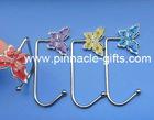 metal crystal butterfly hanger hooks