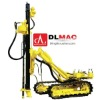 Hydraulic mobile drilling rig for rock, ore mining