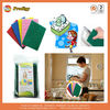 Sponge colorful kitchen cleaning pad, scouring pad