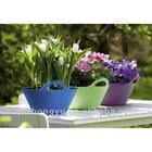 plastic flexible garden tools flower pot