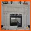 Natural Marble Fireplace Mantle---MSM108