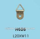 steel swivel loop hanger apply for furniture in hardware