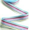 100%cotton colorful hat webbing woven ribbon