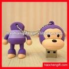 Cartoon silicon mini USB cover