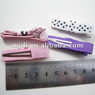 Factory supplier polyester rectangle salon metal hair clips
