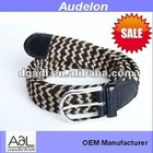 Dongguan manufacturer lady knitted belt