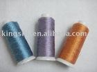 100% viscose tiwst metallic yarn