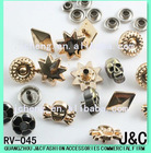 garment accessories/nail head/stud/crystal stud