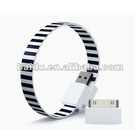 Hot sale loop usb cable for mobile phones