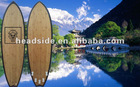 2013 New Model Chinese Style Bamboo EPS shortboard/All Carbon Fiber Tail surfboard