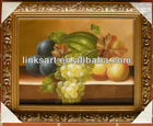 framed canvas oil paintings of fruit