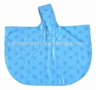 PVC / EVA children rain Poncho, Raincoats. Fashion Poncho