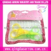 Cute Design Plastic Scissors In Pvc Bag For Kids