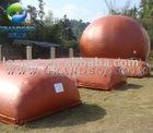 floating biogas tank