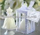 romantic wedding decorative candle