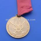 FIP Metal Medallion