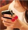 Hot Sale European Trendy Sweet Lovely Cherry Dustproof Plug Mobile Phone Chain