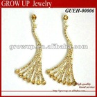 2012 fashion golden earring designs for women