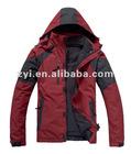 red winter men coat,men bulk, hair bulk,latest outdoor coat for men