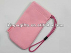 2012 customized velvet bag for packing