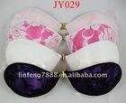 Cloth silicone bra